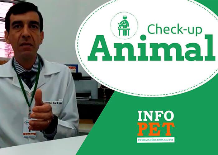 Video explicativo sobre a importância de realizer um check up em seu animal de estimação.